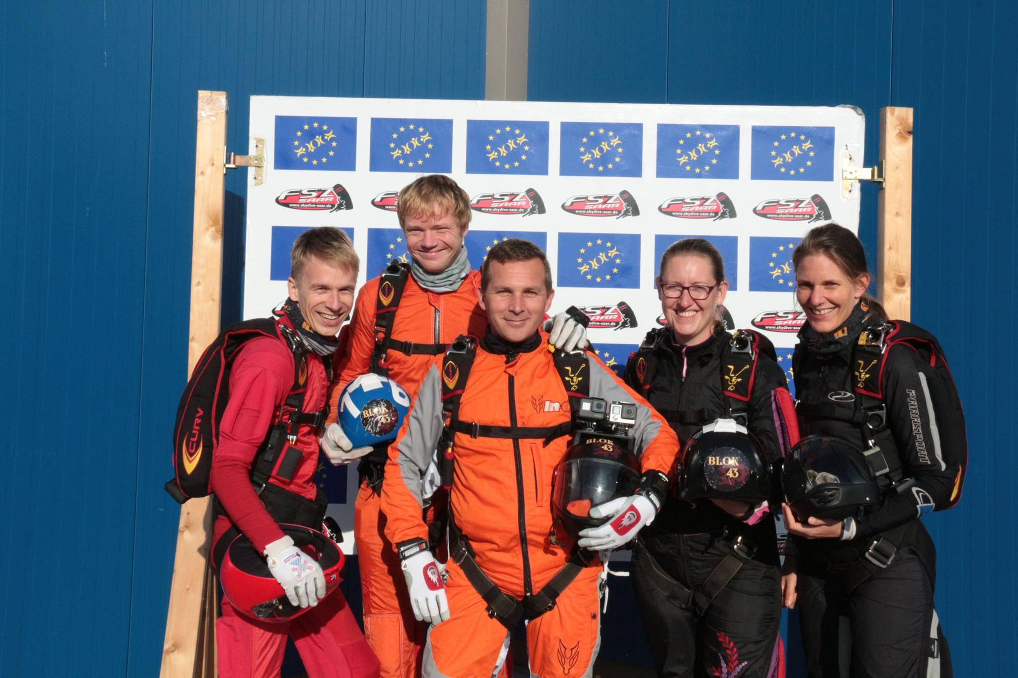 Blok43 skydiving team